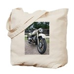Vintage Motorcycle Tote Bag