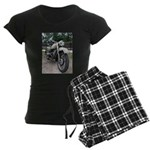Vintage Motorcycle Women's Dark Pajamas