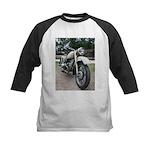 Vintage Motorcycle Kids Baseball Jersey