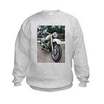 Vintage Motorcycle Kids Sweatshirt
