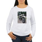 Vintage Motorcycle Women's Long Sleeve T-Shirt