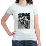 Vintage Motorcycle Jr. Ringer T-Shirt