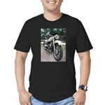 Vintage Motorcycle Men's Fitted T-Shirt (dark)