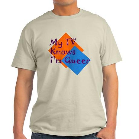 Queer TV Light T-Shirt