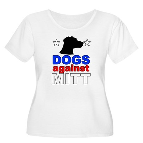 Dogs Against Mitt Romney 1 Women's Plus Size Scoop