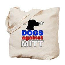 Dogs Against Mitt Romney 1 Tote Bag