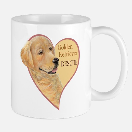 Golden Retriever RESCUE Mug