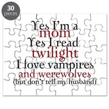 Vampires & Werewolves Puzzle