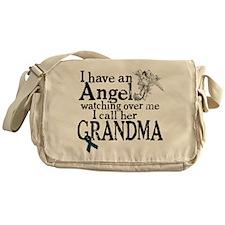 Uterine Cancer Grandma Angel Messenger Bag