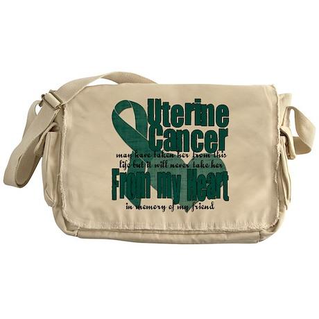 Loved ones Lost Uterine Cance Messenger Bag