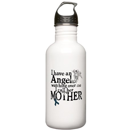 Ovarian Cancer Mother Angel Stainless Water Bottle