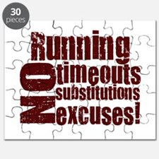 Running No Excuses Puzzle