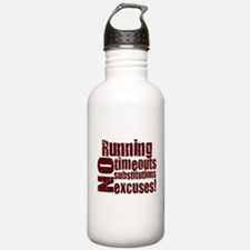 Running No Excuses Water Bottle