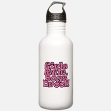 Girls Rule Water Bottle