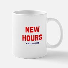 New Hours Mugs