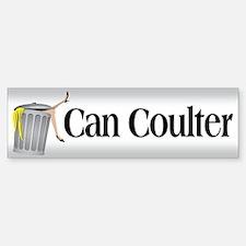 Can Coulter Bumper Bumper Bumper Sticker