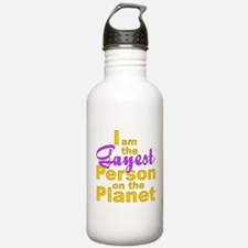 Gayest Person Water Bottle