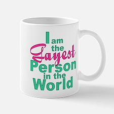 Gayest Person Mug