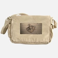 Odhin on Parchment Messenger Bag