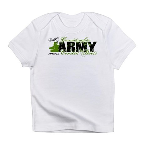 Granddaughter Combat Boots - ARMY Infant T-Shirt