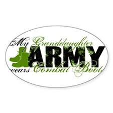 Granddaughter Combat Boots - ARMY Decal