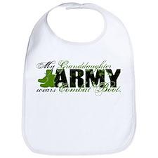 Granddaughter Combat Boots - ARMY Bib