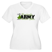 Granddaughter Combat Boots - ARMY T-Shirt