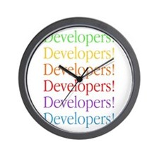 Developers Wall Clock