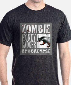 Zombie Honey Badger T-Shirt
