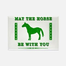 Horse Force Rectangle Magnet