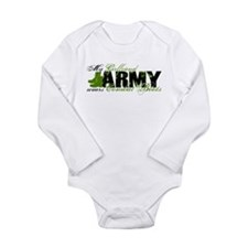 Girlfriend Combat Boots - ARMY Long Sleeve Infant
