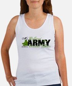 Girlfriend Combat Boots - ARMY Women's Tank Top