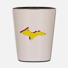 Retro U.P. Rainbow Yooper Shot Glass