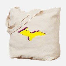 Retro U.P. Rainbow Yooper Tote Bag