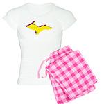 Retro U.P. Rainbow Yooper Women's Light Pajamas