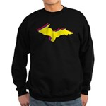 Retro U.P. Rainbow Yooper Sweatshirt (dark)