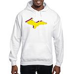 Retro U.P. Rainbow Yooper Hooded Sweatshirt