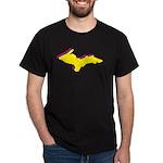 Retro U.P. Rainbow Yooper Dark T-Shirt