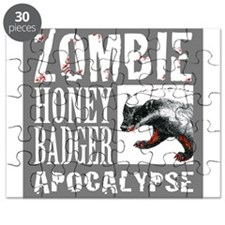 Zombie Honey Badger Puzzle
