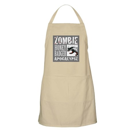 Zombie Honey Badger Apron
