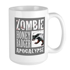 Zombie Honey Badger Mug