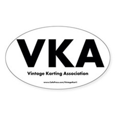 International Oval - Vka Decal