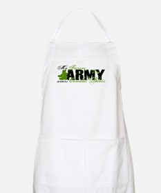 Fiancee Combat Boots - ARMY Apron