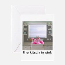The Kitsch in Sink Greeting Card