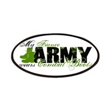Fiance Combat Boots - ARMY Patches