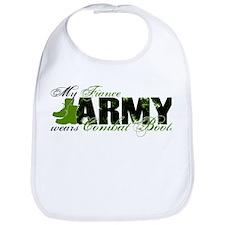 Fiance Combat Boots - ARMY Bib