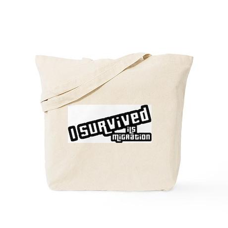 I Survived ILS Migration Tote Bag