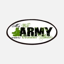 Wife Combat Boots - ARMY Patches