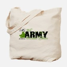 Wife Combat Boots - ARMY Tote Bag