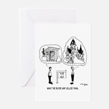What The Buyer & Seller Think Greeting Cards (Pk o
